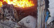 Daawo sawirarada dabkii Qabsaday suuqa Barakaaraha