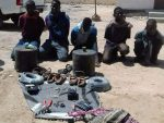 The Bosaso Police has displayed to the public a truck laden with explosive material