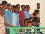 Sawirro: Maxkamada Darajada 1-aad ee Ciidamada qalabka sida oo eedeysanayaal xukuntay