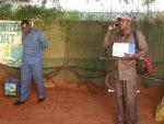 Sawirro: Garoonka diyaaradaha ee Kismayo oo lagu Xiray labo sarkaal ay DFS usoo magacawday..