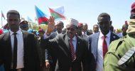 Daawo Video-Sawirro: Madaxweyne Farmaajo oo Baydhabo u tagay caleemasaarka Lafta Gareen