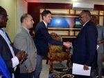 Sawirro: Madaxweynaha Puntland oo Xafiiskiisa ku Qaabilay Laamaha Hay'addaha UN-ka ee Puntland.