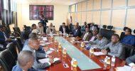 Sawirro: Guddiga Qorsheynta, Maaliyadda iyo Miisaaniyadda Golaha Shacabka oo kulan la qaatay dhihgiisa Rwanda