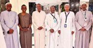 Sawirro: Madaxweynaha Somaliland & Wasiiro ka tirsan Xukuumadda Soomaaliya oo ku kulmay Sacuudiga