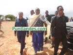 Sawirro: Wafuudii ka qeyb gashay caleemasaarkii Axmed Madoobe oo martiqaad loogu sameeyay duleedka Kismayo