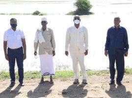 Sawirro: Madaxweynaha Jubaland iyo Masuuliyiin kala duwan oo qado sharaf loogu sameeyay deegaanka Goobweyn