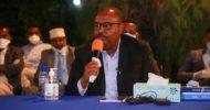 Sawirro: Madaxweyne Deni oo ka qeybgalay kulanka 4-aad ee Doodaha looga hadlayo habka ugu wanaagsan ee Somalia uga gudbi karto marxalada kala guurka