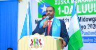 Daawo Khudbadii Madaxweyne Deni ee Xuska 1da Luulyo 2020 ee ka dhacday Gaalkacyo, Doorasha Somalia, xiriirka DFS..