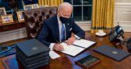 Madaxweyne Joe Biden oo bilaabay wax ka bedelka xeerarkii Trump