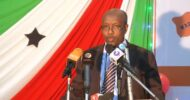 Cabdirizaq Khaliif oo loo doortay guddoomiyaha baarlamaanka Somaliland